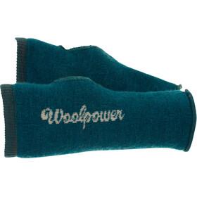 Woolpower 200 Wrist Gaiter petrol/chamapgne